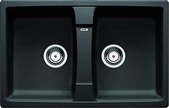 Кухонная мойка BLANCO LEXA 8 SILGRANIT антрацит мойка lexa 8 coffee 515063 blanco