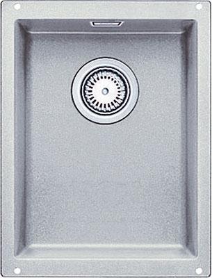 Кухонная мойка BLANCO SUBLINE 320-U SILGRANIT жемчужный с клапаном-автоматом  blanco subline 320 u антрацит