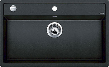 Кухонная мойка BLANCO DALAGO 8 SILGRANIT антрацит с клапаном-автоматом мойка blanco classik 45s silgranit 521308 антрацит