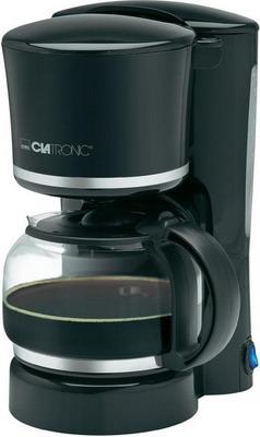 Кофеварка Clatronic KA 3555 schwarz-silber мини печь clatronic mbg 3521
