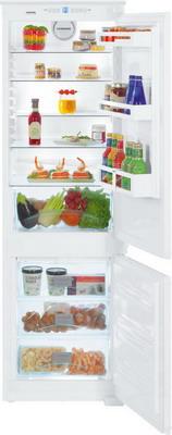 Встраиваемый двухкамерный холодильник Liebherr ICNS 3314 двухкамерный холодильник liebherr cnef 3515