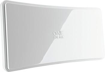 цены ТВ антенна OneForAll SV 9421 Design Line 15 км комнатная белая