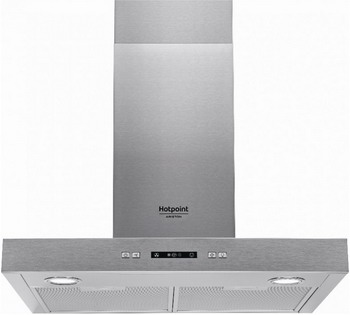 Вытяжка купольная Hotpoint-Ariston HHBS 6.7F LL X вытяжка hotpoint ariston hhbs 6 7f ll x