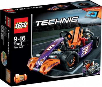 Конструктор Lego Technic Гоночный карт 42048 lego technic конструктор гоночный автомобиль для побега