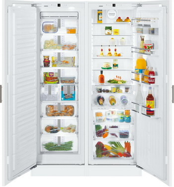 Встраиваемый холодильник Side by Side Liebherr SBS 70 I4-22 liebherr sbs 7701