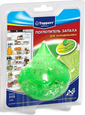Поглотитель запаха Topperr 3115 поглотитель запаха greenfield д холодильников 2шт