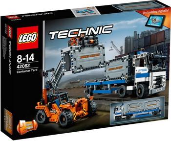 Конструктор Lego TECHNIC Контейнерный терминал 42062 toys for children china brand 355 self locking bricks compatible with lego technic rescue helicopter 8068 no original box