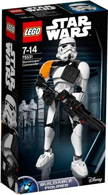 Конструктор Lego STAR WARS Командир штурмовиков 75531-L lno 049 267pcs star wars mini diamond building blocks