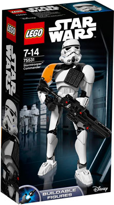 Конструктор Lego STAR WARS Командир штурмовиков 75531-L lego star wars чиррут имве™ 75524