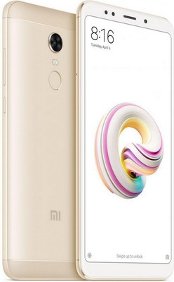 Мобильный телефон Xiaomi Redmi 5 Plus 3/32 GB золотистый смартфон bqs 5050 strike selfie grey mediatek mt6580 1 3 8 gb 1 gb 5 1280x720 dualsim 3g bt android 6 0