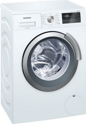 Стиральная машина Siemens WS 12 L 142 OE встраиваемая стиральная машина siemens wk 14 d 541 oe