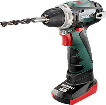 Дрель-шуруповерт Metabo PowerMaxx BS BASIC 600080510 тетрадь а5 80л клетка спираль голограф фольга 15с13