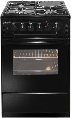 Комбинированная плита Лысьва ЭГ 1/3г01-2у черная