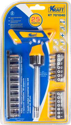 Купить Отвертка со сменными вставками Kraft, KT 701040, Китай