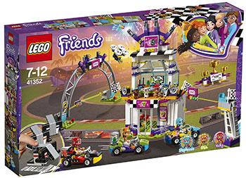 Конструктор Lego Большая гонка 41352 конструктор lego 10813 большая стройплощадка