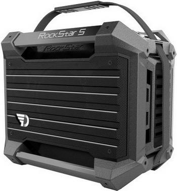 Портативная акустика DreamWave Rockstar S graphite цена