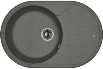 Кухонная мойка Florentina Лотос 780 780х510 черный FG искусственный камень