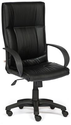 Кресло Tetchair DAVOS (кож/зам черный PU-C 36-6) кресло tetchair runner кож зам ткань черный жёлтый 36 6 tw27 tw 12