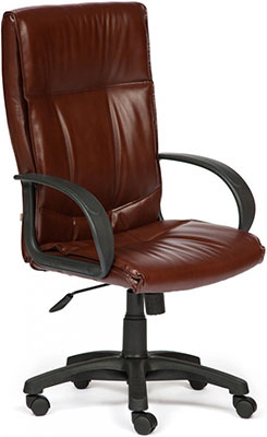Кресло Tetchair DAVOS (кож/зам коричневый 2 TONE) кресло tetchair baron кож зам коричневый коричневый перфорированный 2 tone 2 tone 06