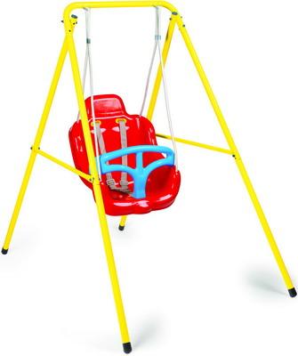 подвесные игрушки Подвесные качели 2 в 1 на металлической раме Dolu DL 3009