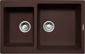 Фото Кухонная мойка Zigmund amp Shtain Rechteck 400.275 швейцарский шоколад