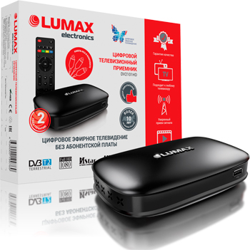 Цифровой телевизионный ресивер Lumax DV 2101 HD цена и фото