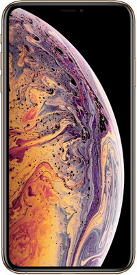 Смартфон Apple iPhone Xs Max 64 GB Gold (MT 522 RU/A) телефон apple iphone 7 128gb a1778 черный матовый ru a