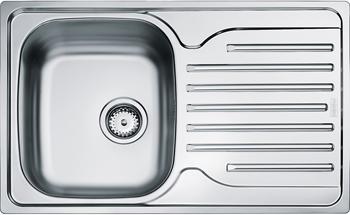 Кухонная мойка FRANKE POLAR нерж PXN 611-78 101.0192.877 стилус polar pp001