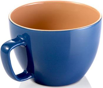 Экстрабольшая кружка Tescoma CREMA SHINE синий 387196.30 декор ape ceramica arezzo varese mix crema 15 1x15 1