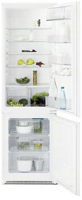 Встраиваемый двухкамерный холодильник Electrolux ENN 92801 BW enn vetemaa tulnuk