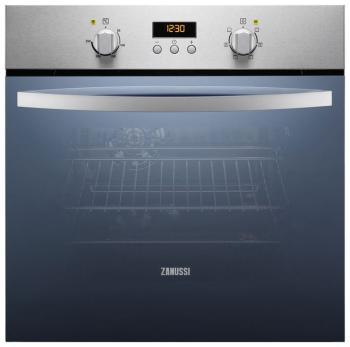 Встраиваемый электрический духовой шкаф Zanussi ZZB 525601 X zanussi zog 521317 x