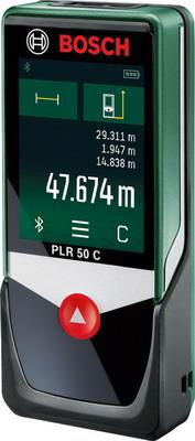 Дальномер лазерный Bosch PLR 50 C лазерный дальномер bosch plr 50 c [0603672220]