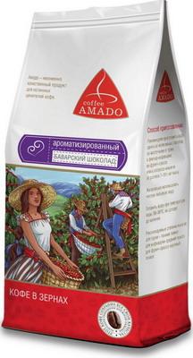 Кофе зерновой Amado Баварский шоколад 0 5 кг кофе зерновой amado венская обжарка смесь 0 5 кг