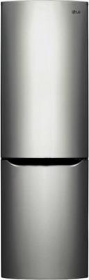 Двухкамерный холодильник LG GA-B 389 SMCZ холодильник с морозильной камерой lg ga b409uqda