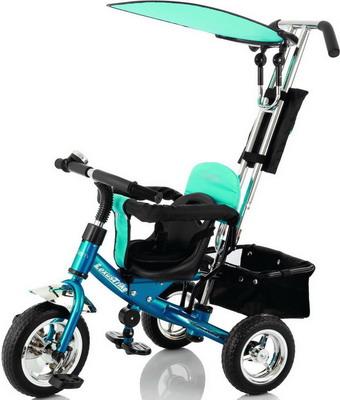 Велосипед с ручкой-толкателем Jetem Lexus Trike Next Generation синий