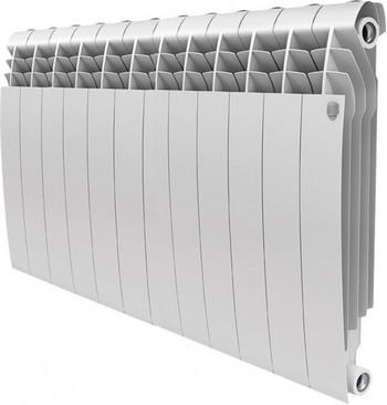 Водяной радиатор отопления Royal Thermo BiLiner 500-12 Bianco Traffico радиатор royal thermo biliner 500 noirsable 8 секций черный