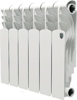 Водяной радиатор отопления Royal Thermo Revolution Bimetall 350 - 6 секц. радиатор отопления royal thermo revolution bimetall 350 6 секций