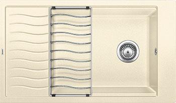 Кухонная мойка BLANCO ELON XL 8 S жасмин мойка кухонная blanco elon xl 6 s шампань с клапаном автоматом 518741