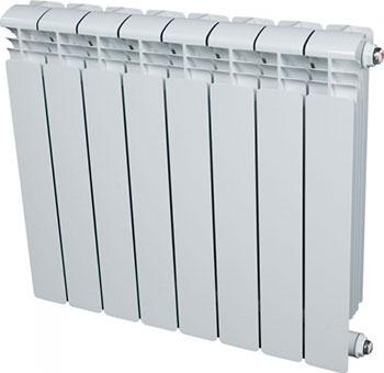 Водяной радиатор отопления RIFAR Alum 500 х 8 сек  алюминиевый радиатор rifar alum 500 4 сек