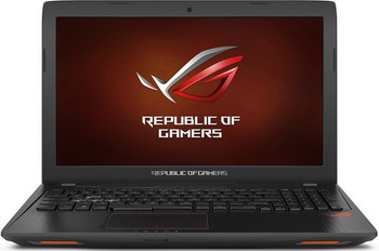 Ноутбук ASUS ROG GL 553 VE-FY 320 T (90 NB0DX3-M 04570) ноутбук asus gl 703 vd gc 046 t 90 nb0gm2 m 03310