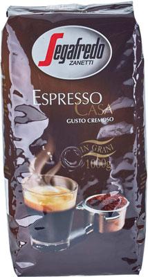 Кофе в зернах Segafredo ESPRESSO CASA 1KG segafredo le origini peru кофе молотый 250 г