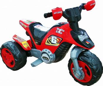 Электромотоцикл Molto Elite 6 6V красный 35882_PLS электромотоцикл pilsan action 6v 5230 plsn