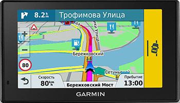 Автомобильный навигатор Garmin Drive Assist 51 RUS LMT (черный) garmin drivesmart 50 rus lmt
