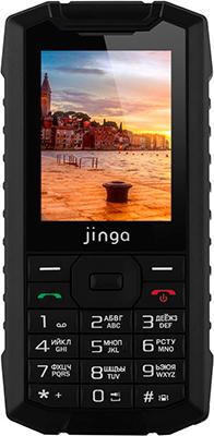 Мобильный телефон Jinga IP 68 Чёрный цена и фото
