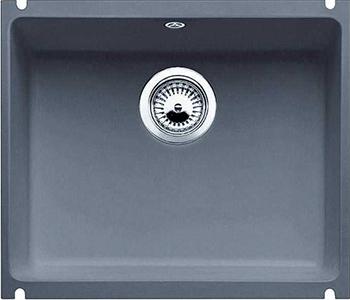 Кухонная мойка BLANCO 523739 SUBLINE 500-U керамика базальт PuraPlus с отв.арм. InFino кухонная мойка blanco 523738 subline 500 u керамика серый алюминий puraplus с отв арм infino