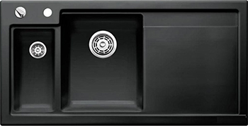 Кухонная мойка BLANCO 524150 AXON II 6 S (чаша слева) керамика черный PuraPlus с кл.-авт. InFino axon очки elegance ii