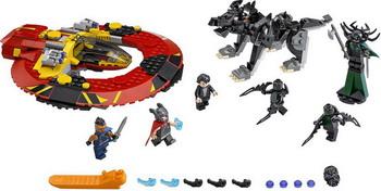 Конструктор Lego SUPER HEROES Решающая битва за Асгард 76084 конструктор lego marvel super heroes реактивный самолёт мстителей 76049