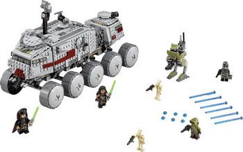 Конструктор Lego STAR WARS Турботанк клонов 75151