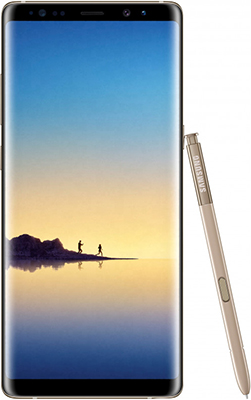 Мобильный телефон Samsung Galaxy Note 8 64 GB желтый топаз samsung galaxy note 5 sm n920czdeser 64 gb lte gold