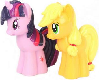 Набор игрушек для купания Hasbro Эппл Джек и Сумеречная искорка GT 7394